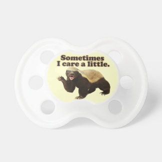 Honey Badger Cares Baby Pacifier