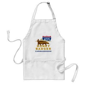 honey badger carmageddon adult apron