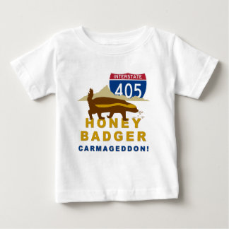 honey badger carmageddon baby T-Shirt