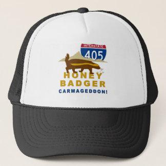 honey badger carmageddon trucker hat