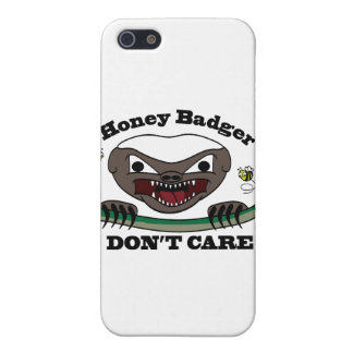 Honey Badger Cartoon Cover For iPhone 5