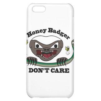 Honey Badger Cartoon iPhone 5C Covers