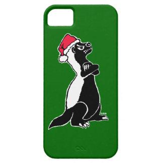 Honey badger Christmas iPhone SE/5/5s Case