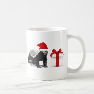 Honey Badger Christmas Coffee Mugs
