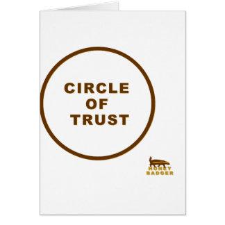honey badger circle of trust card