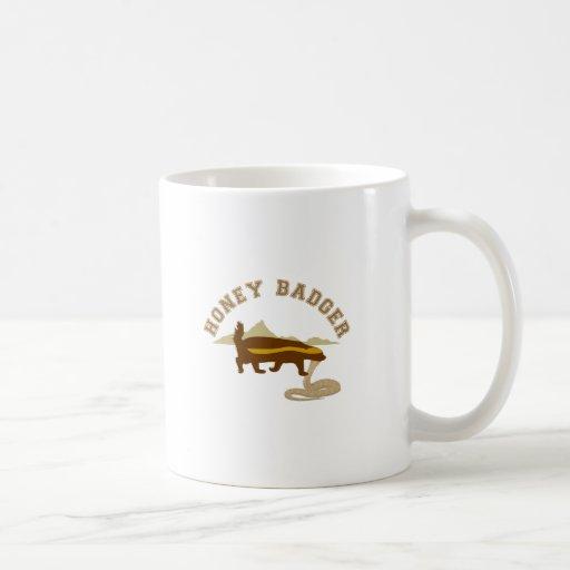 honey badger cobra killa coffee mug