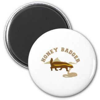 honey badger cobra killa refrigerator magnet