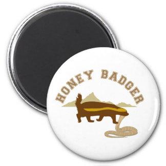 honey badger cobra killa fridge magnets