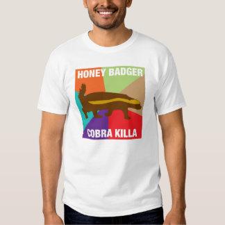 honey badger cobra killa meme t shirt