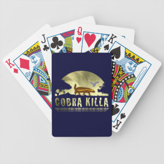 Honey Badger Cobra Killa Playing Cards