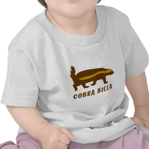 honey badger cobra killa tshirts