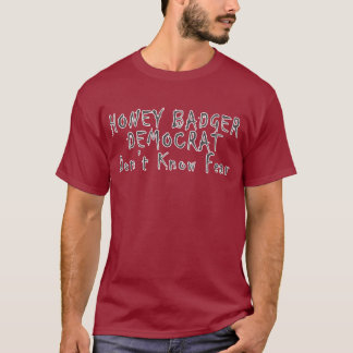 Honey Badger Democrat 1m Shirt