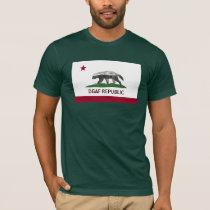 Honey Badger DGAF California Republic!!!!! T-Shirt