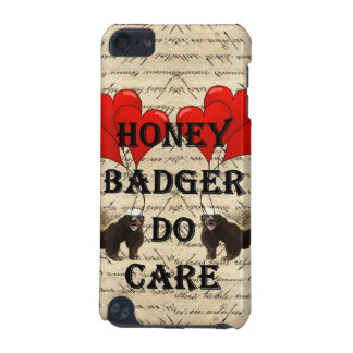 Honey badger do care iPod touch (5th generation) cases