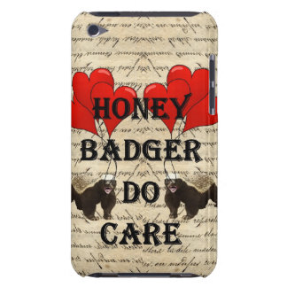 Honey badger do care iPod touch cases