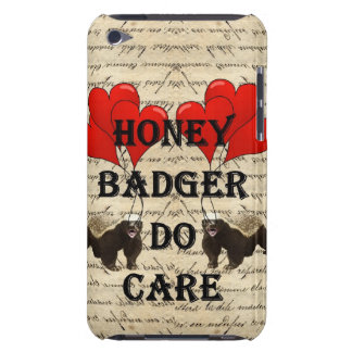 Honey badger do care iPod touch cover