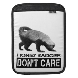 Honey Badger Don t Care Sleeve For iPads