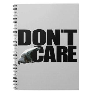 Honey Badger Don t Care Notebook