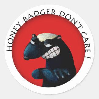 Honey Badger don t Care Sticker