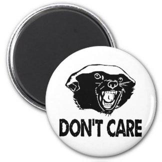 Honey Badger Dont Care 2 Inch Round Magnet