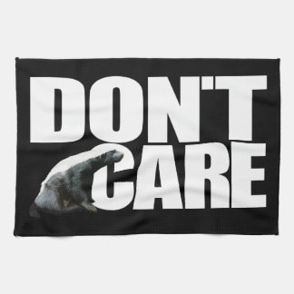 Honey Badger Don't Care American MoJo Kitchen Towe Towels