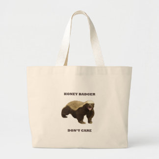 Honey Badger Don't Care Tote Bags