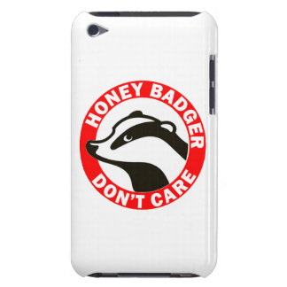 Honey Badger Don't Care Barely There iPod Cover