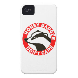 Honey Badger Don't Care iPhone 4 Covers