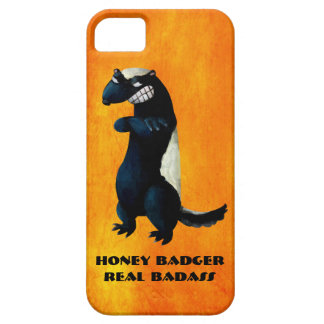 Honey Badger don't care! iPhone 5 Covers