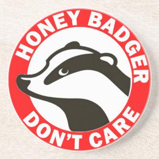 Honey Badger Don't Care Beverage Coaster