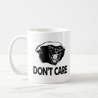 Honey Badger Dont Care Coffee Mug