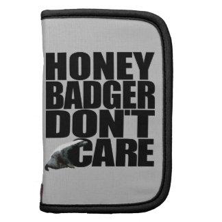 Honey Badger Don't Care Folio Folio Planner