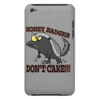 HONEY BADGER DONT CARE FUNNY CARTOON iPod TOUCH COVERS