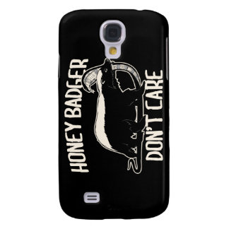 honey badger don't care galaxy s4 cover