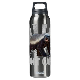 Honey Badger Don't Care Insulated Water Bottle