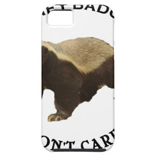 Honey Badger Don't Care Internet Memes Gifts iPhone 5 Cases