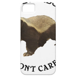 Honey Badger Don't Care Internet Memes Gifts iPhone 5 Covers