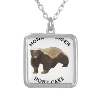Honey Badger Don't Care Internet Memes Gifts Custom Jewelry