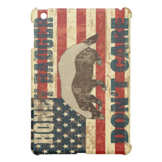 Honey Badger Dont Care iPad Mini Case