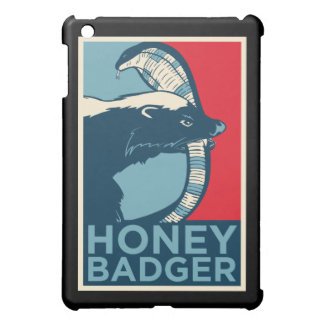 honey badger don't care iPad mini covers
