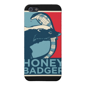 honey badger don't care iPhone 5 cases
