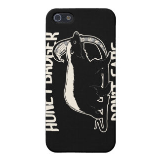 honey badger don't care iPhone 5 cover