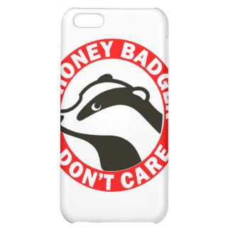 Honey Badger Don't Care Cover For iPhone 5C