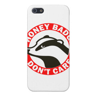 Honey Badger Don't Care iPhone 5 Covers