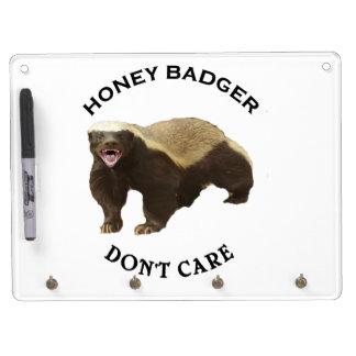 Honey Badger Don't Care logo Dry Erase Whiteboards