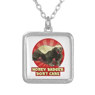 Honey Badger Don't Care Pendants