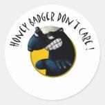 Honey Badger don't Care! Sticker