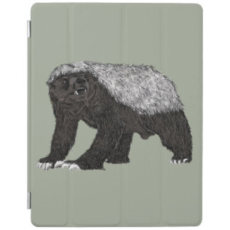 Honey Badger Fearless With Attitude Animal Design iPad Smart Cover