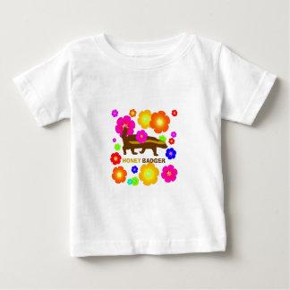 honey badger flowers baby T-Shirt