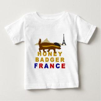 Honey Badger France Baby T-Shirt